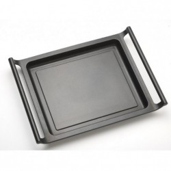 Plancha de asar bra efficient a271545/ ø45cm/ aluminio fundido/ apta para inducción