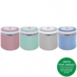 Termo iris lunchbox coloured 8334-is/ capacidad 600ml/ para sólidos/ colores surtidos