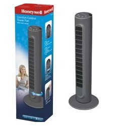 Ventilador de torre honeywell hyf1101e4 confort control con temporizador