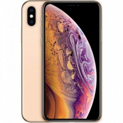 Telefono movil smartphone reware apple iphone xs 256gb gold 5.8pulgadas - reacondicionado - refurbish - grado a+