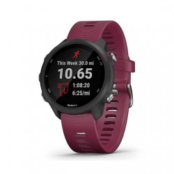 Smartwatch garmin sportwatch forerunner 245 - f.cardiaca - gps - 42.3mm - acelerometro - bt - 5 atm - cereza