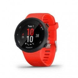 Smartwatch garmin sport watch forerunner 45 - f.cardiaca - gps - 26.3mm - acelerometro - bt - 5 atm - rojo